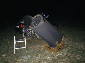 Telescopio Dobson 40 cm hecho por Joan López Vila